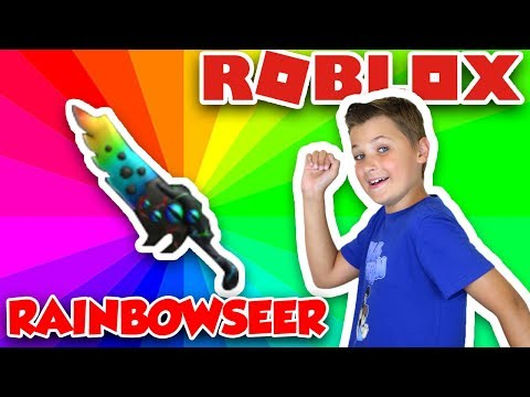 WE GOT ONE OF THE MOST EXPENSIVE KNIFE in ROBLOX ASSASSIN! CRAFTING RAINBOW SEER MYTHICAL KNIFE
