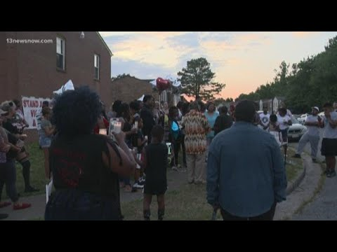 Family, Friends Hold Vigil For Man Killed In Chesapeake Block Party Shooting