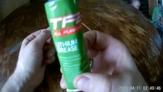 Смазка литиевая Weldtite TF2