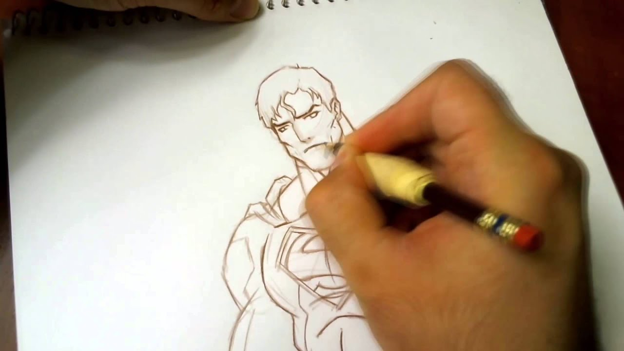 Superman New 52 Drawing Justice League War Youtube Justice league sketch by tryvor on deviantart. superman new 52 drawing justice league war