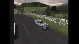 1997 - SUPER RARE - Test Drive 4 DEMO MODE - GTSR Exhibition