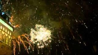 2011 Gdansk New Year Fireworks Part 1/3