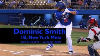 Dominic Smith, 1B, New York Mets — April 27-30, 2017 2017 Video