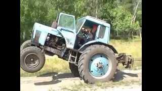 трактор тянет Камаз прикол