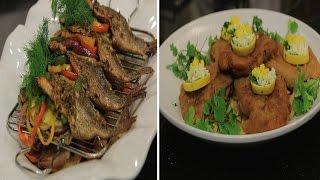 كرودن بلو لحم - سمك مشوي بالصويا صوص - دجاج بالقرع | الشيف حلقة كاملة