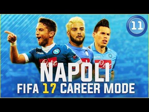 FIFA 17 Napoli Career Mode Ep11 - CONTROVERSIAL RED CARD