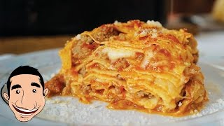 ULTIMATE LASAGNA RECIPE  | Italian Grandma Makes LASAGNA | Timballo Teramano