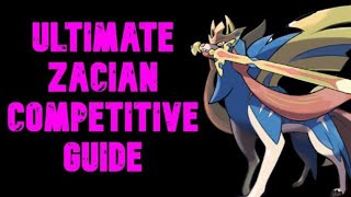 How To Use Zacian 🤩 UNBANNED! VGC Competitive Zacian Moveset Guide for Pokemon Sword & Shield