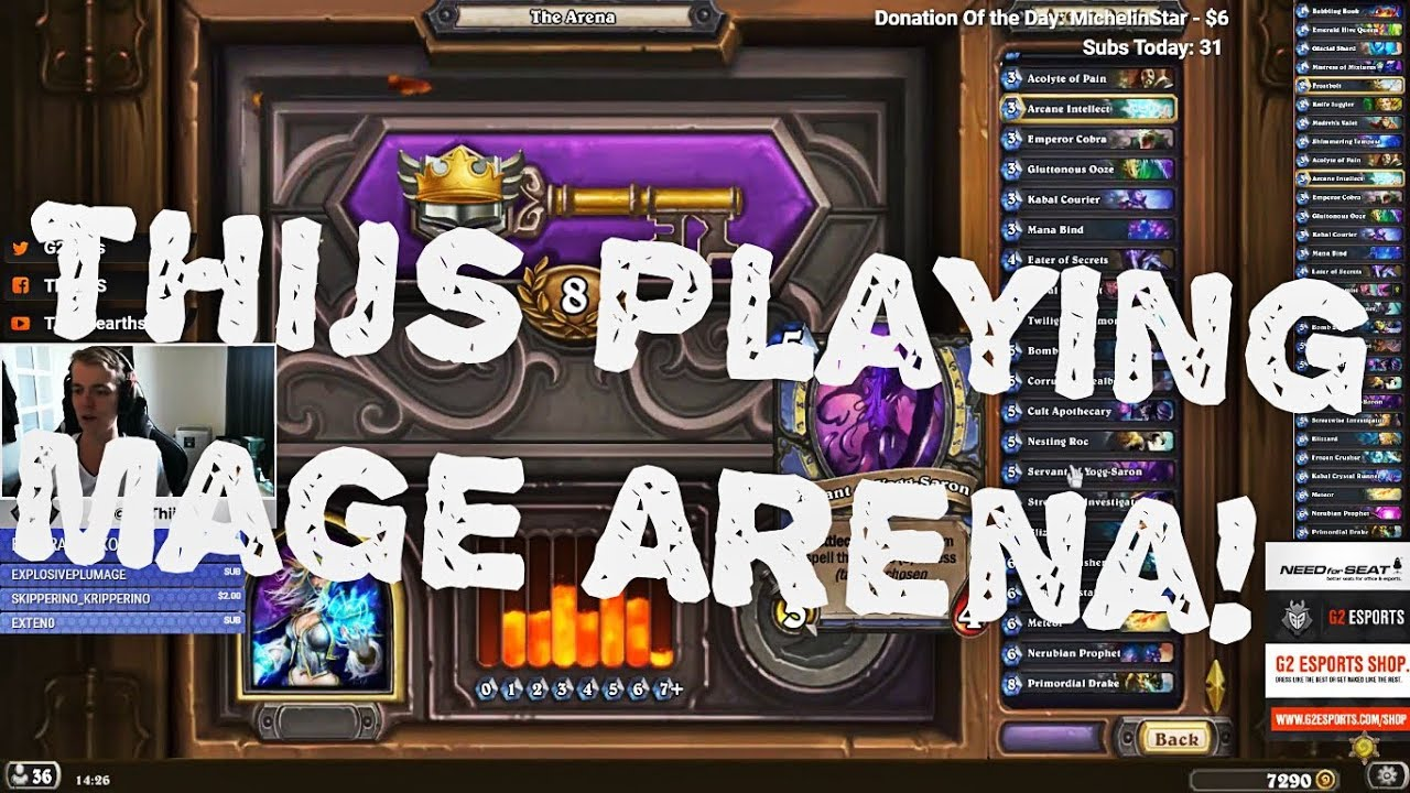 how to build a hearthstone arena deck