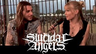 SUICIDAL ANGELS - Nick and Gus: what happens on the road stays on the road @ Alcatraz 2018
