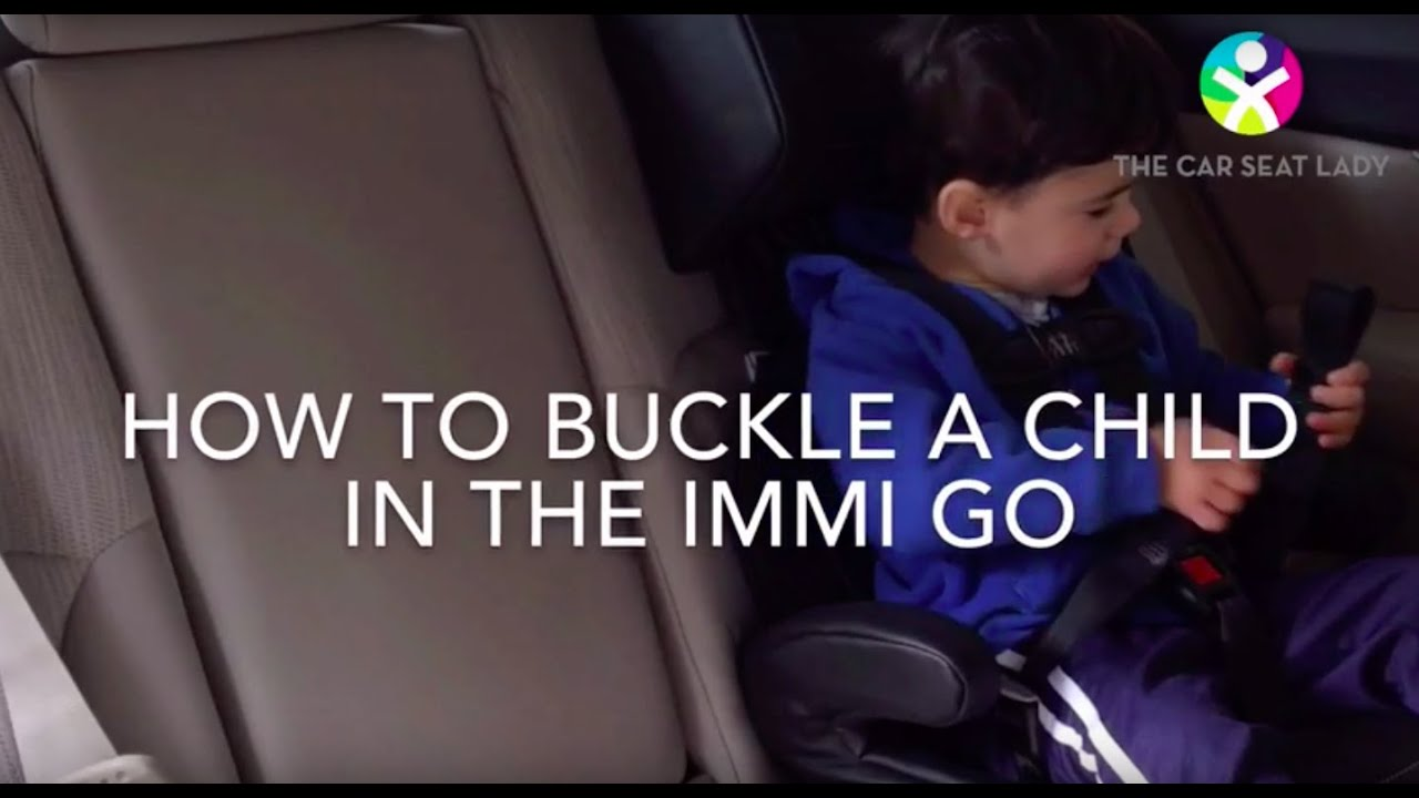 How To Buckle A Child In The IMMI Go Car Seat