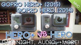 GoPro Hero+ vs GoPro Hero Side By Side HD