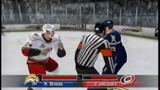 NHL 2k8 & NHL 2k9 fights