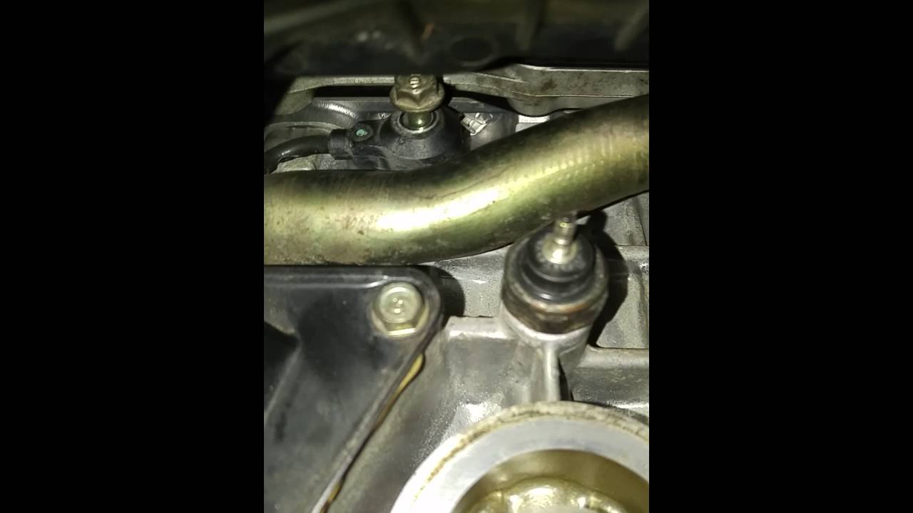 sensor knock honda civic location 2002 lx