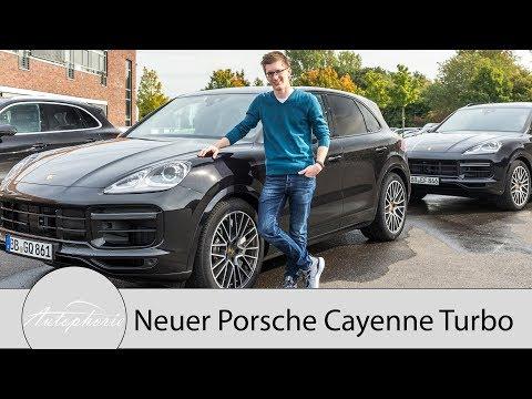 Erste Fahrt im neuen Porsche Cayenne Turbo und Technik im Detail - Autophorie