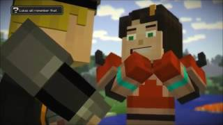 minecraft story mode lukas x jesse beauty and the beast