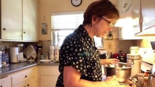 Low-fat Peach Banana Bread