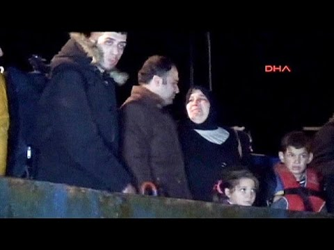 Turkish coastguard opens fire to stop Syrian migrant ship