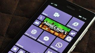 aprenda como instalar o minecraft pocket edition v12 1 no windows phone 8 1 10 gratuitamente