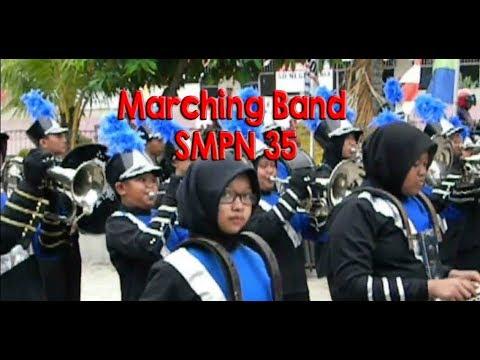 Aksi Memukau MB SMP N 35 | Lagu Indonesia Jaya | di saksikan oleh Wakil Walikota Samarinda