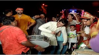 Arjun Bijlani Happily Done Ganpati Visarjan