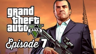 Grand Theft Auto 5 Walkthrough Part 7 - Friend Request ( GTAV Gameplay Commentary )