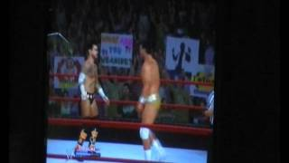 WWE 12 gameplay (wii)