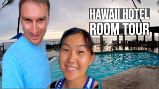 Where to Stay in Kona - Big Island Hawaii Travel Vlog and Hotel Room Tour