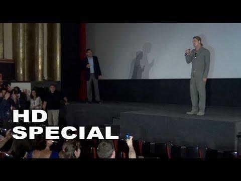 World War Z: Brad Pitt Shows Up to a Fan Screening in Madrid