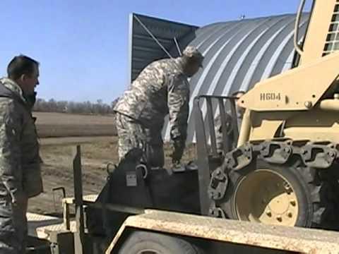 ND National Guardsmen Respond to Rural Flood Emergency