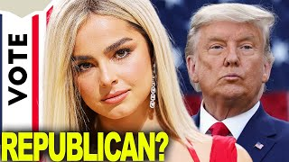 Addison Rae Is Voting For Donald Trump? | Hollywire