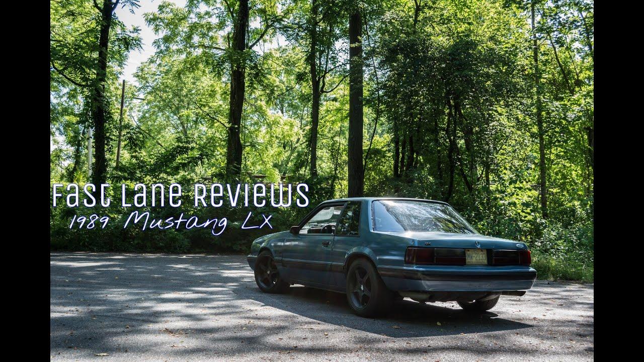 Fast Lane Reviews episode 1  1989 Mustang LX  YouTube