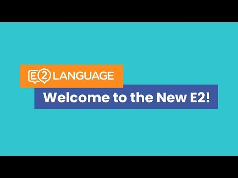 Introducing the Brand New E2Language student portal | How to Use