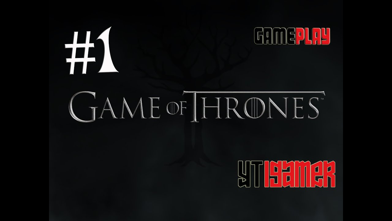 Game of Thrones - A Telltale Games Series - Gameplay HD 1080 - Iphone /  Ipad - Part 1