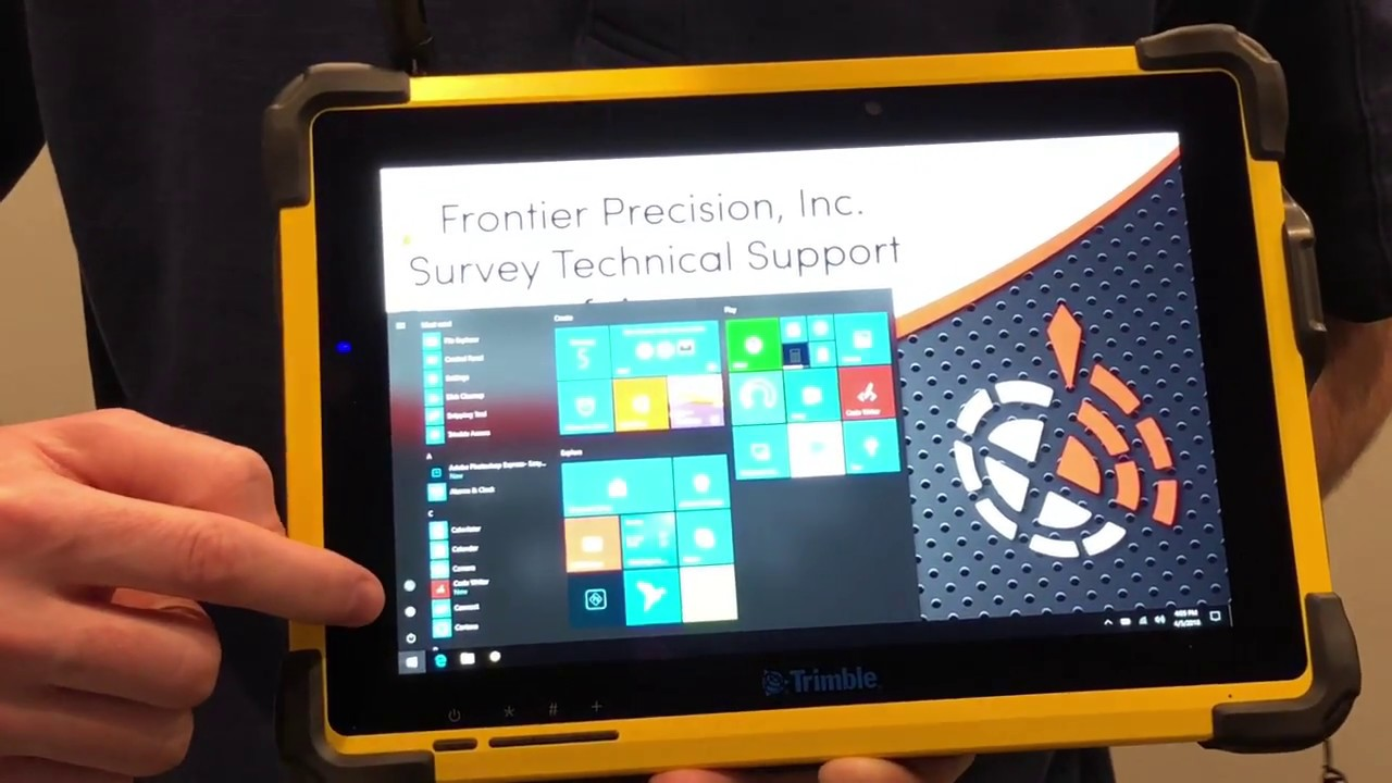 Introduction to the Trimble T10 Tablet