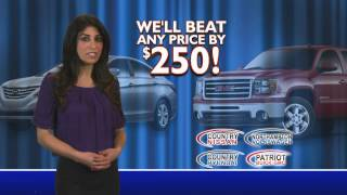 The Best Deals are at Patriot Buick GMC!