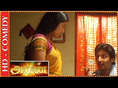 Jiiva teases Gopika before marriage | Aran Tamil Movie | Best Comedy Scenes | Kalaignar TV Movies: Jiiva who falls in love with Gopika at first sight denies marriage with any other girl but finally comes to know that she's the one in Aran Tamil movie directed by Major Ravi.   Cast: Mohanlal, Jiiva, Gopika, Prakash Raj Music composer: Joshua Sridhar Cinematographer: Thiru Director: Major Ravi Producer: R. B. Choudary Banner: Super Good Films  For more updates:  Subscribe to: https://www.youtube.com/channel/UC0SIHdEcfg4BsM8X5tixwHQ  Like Us: https://www.facebook.com/pages/Kalaignar-TV/480162168807989?ref=hl