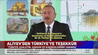 İlham Aliyev'den gözdağı: Bir kendinize bakın, bir de Türkiye'ye!