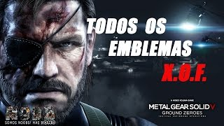 Metal Gear Solid V: Ground Zeroes (PS4) - Todos os Emblemas XOF - Noobons