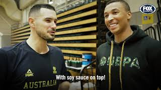 Dante Exum takes you behind the scenes at Boomers training