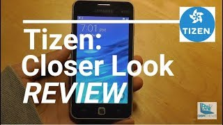 REVIEW: Tizen OS for Smartphones - Linux Mobile OS -