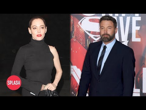Ben Affleck Supports Weinstein rose mcgowan