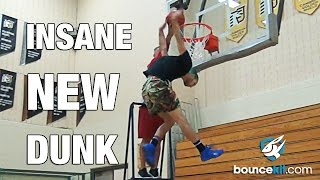 "INSANE New Dunk!!! 6'1 Jordan Kilganon's ""Upside Down"" Dunk!"