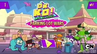 OK K.O.! LET'S BE HEROES - PARKING LOT WARS | CARTOON NETWORK GAMES
