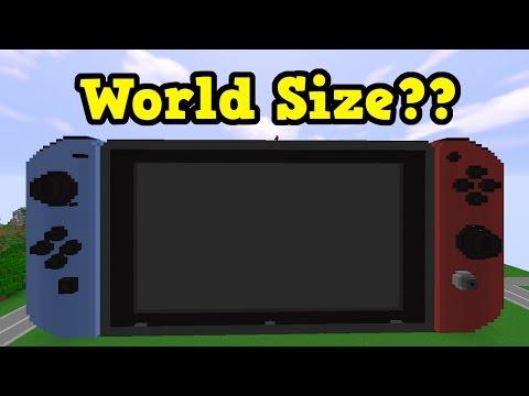 Minecraft Switch Gameplay, Updates & World Size Odditity