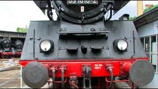 Eisenbahn-Fest Bw Halle - Dampflok - Steam Locomotive - Züge