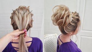 5 Вечерних причесок Прически на длинные и средние волосы