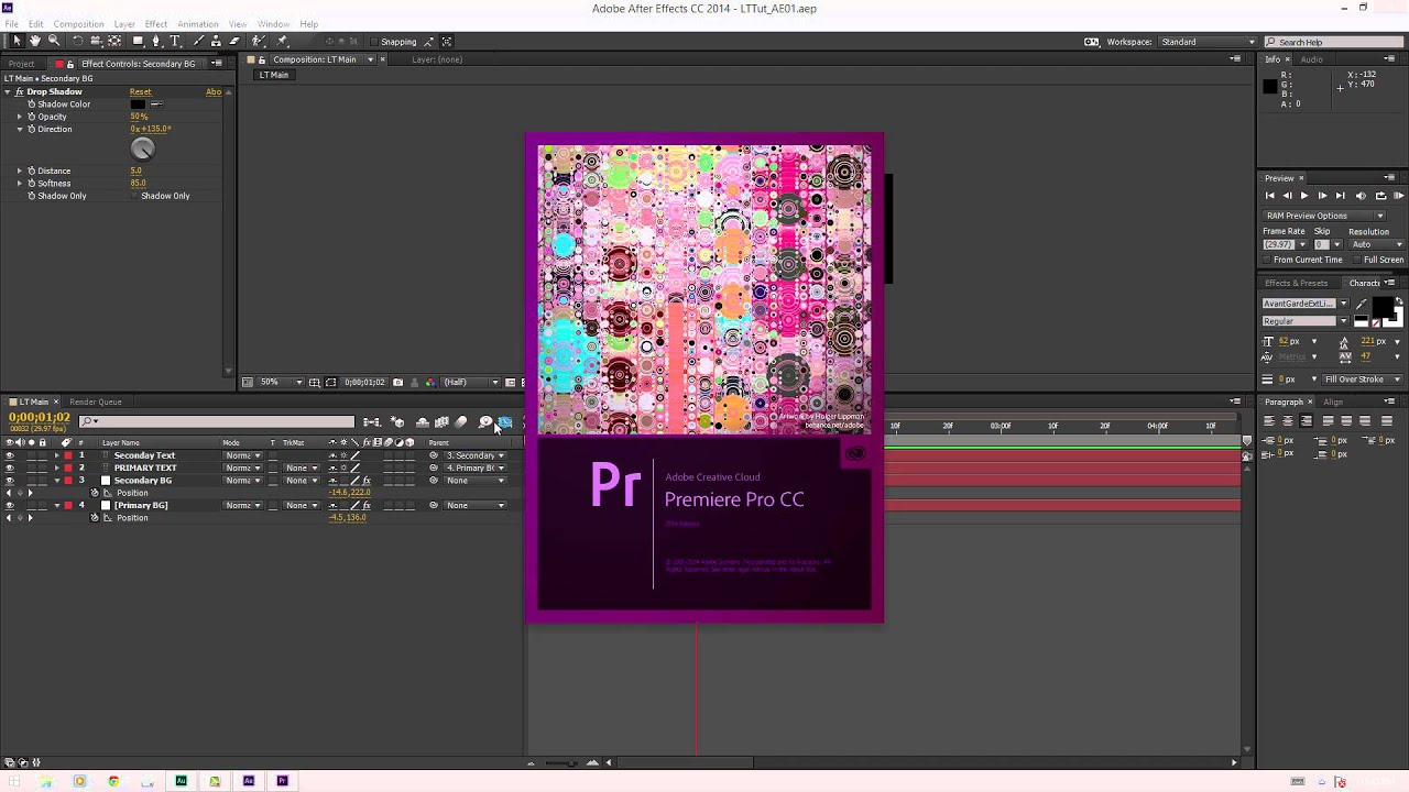 Editible Lower Thirds - After Effects and Premiere Pro CC 2014 ...