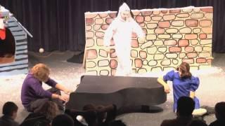 Charlie Brown del Club de Drama del Cape Fear Community College