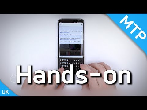 Samsung Galaxy S8 | S8 Plus Keyboard Case - Hands On Video - MyTrendyPhone